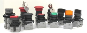 КМЕ, КПЕ кнопки и переключатели 22мм