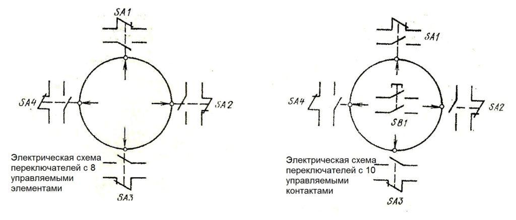 Электрические схемы ПК 12-21